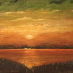 Mable Schmitt, Sunset on Long Island Sound