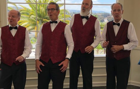 Vocal Harmony with the Barbershop Quartet