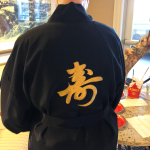 This is the back of this beautiful kimono.