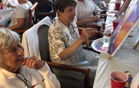Artists Spread Their Wings At Butterfly Painting Class