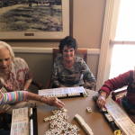 This is a beginners group learning the rules.  They will be ready to play when the new game arrives.